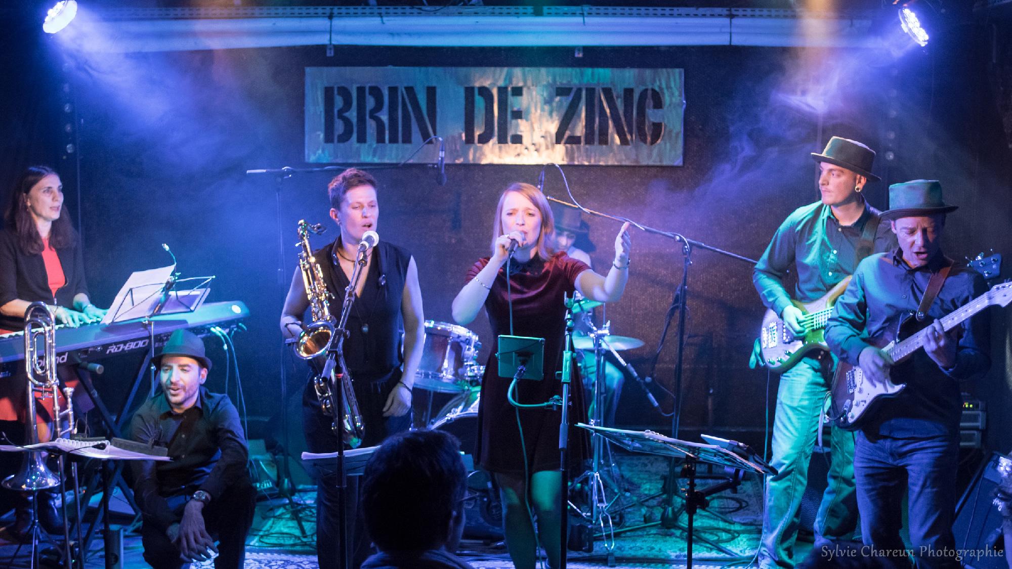 Le groupe In Funk We Trust au Brin de Zinc à Chambéry - Février 2017